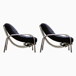 Vintage Lounge Chairs by Christie Tyler, 1946, Set of 2