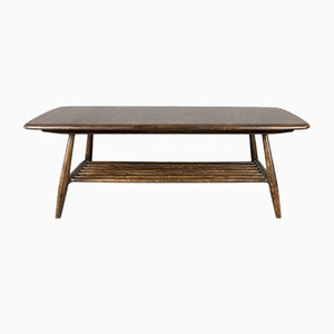 Vintage Solid Elm Coffee Table by Lucian Ercolani for Ercol, 1960s