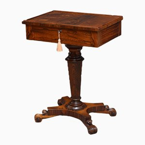 Table d'Appoint Antique en Palissandre