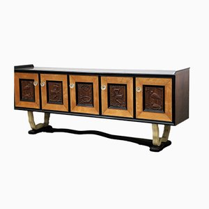 Walnut Sideboard, 1930s