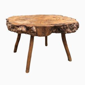 Tavolino da caffè rustico, anni '70