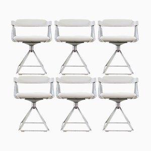 Model Delta Dining Chairs by Rudi Verelst for Novalux, 1970s, Set of 6