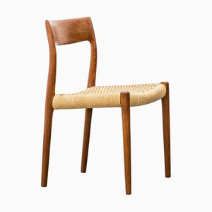 Danish Model 77 Teak Dining Chair by Niels Otto Møller for J.L. Møllers, 1960s