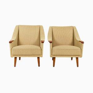 Dänische Vintage Sessel, 1960er, 2er Set