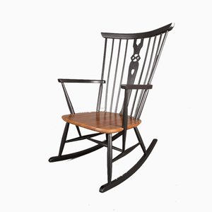 Mid-Century Windsor Rocking Chair, 1960s
