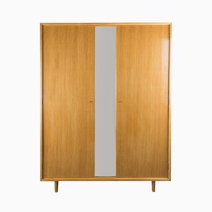 Mid-Century Oak Wardrobe by John & Sylvia Reid for Stag, 1960s