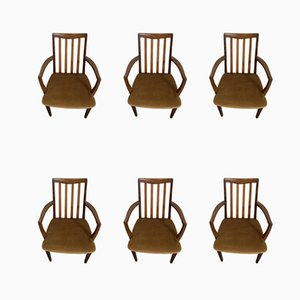 Esszimmerstühle von Victor Wilkins für G Plan, 1970er, 6er Set