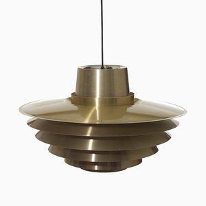 Scandinavian Modern Danish Verona Ceiling Lamp by Svend Middelboe for Nordisk Solar, 1960s