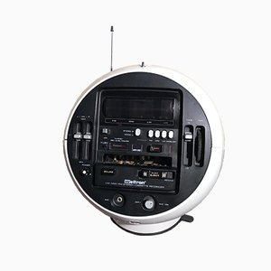 Model 2004 Stereo 7 Space Ball Radio from Weltron, 1970s