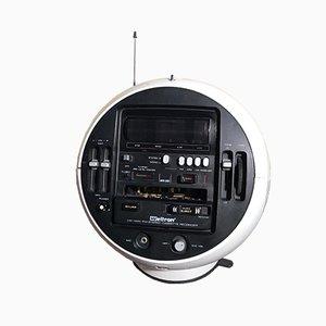 Modell 2004 Stereo 7 Space Ball Radio von Weltron, 1970er