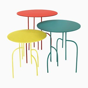 Tables Rondes Lagoas par Filipe Ramos, Set de 3