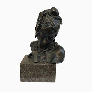 Busto antico in bronzo