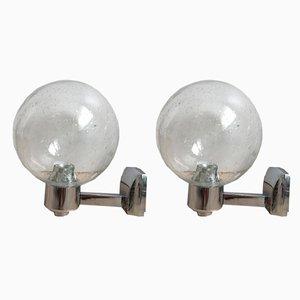 Vintage Wandlampen von Lenz, 1970er, 2er Set