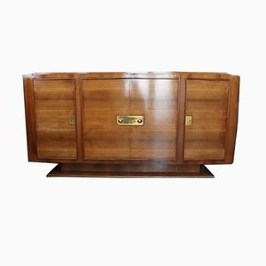 Art Deco Rosewood Sideboard by André Domin & Marcel Genevriere for Maison Dominique, 1930s