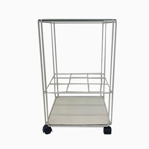 Carrello bar Isocele vintage di Max Sauze per Atrow