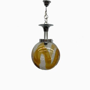Murano Glass Pendant Lamp from Mazzega, 1970s