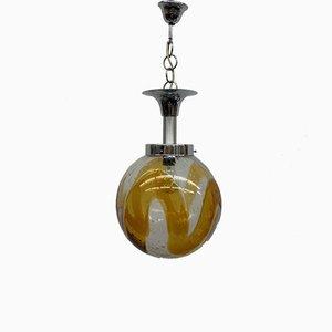 Murano Glass Pendant Lamp from Mazzega, 1970s