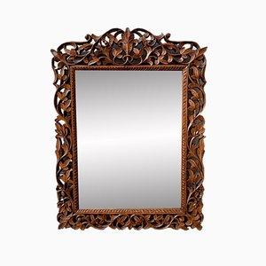 Espejo modelo D195 de madera tallada, años 20