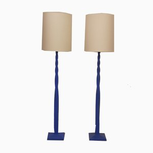 Floor Lamps by Loïc Beuchet for Atelier Sedap, 1990s, Set of 2