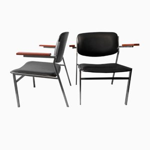 Chaises Cocktail Empilables par Martin Visser, 1960s, Set de 2