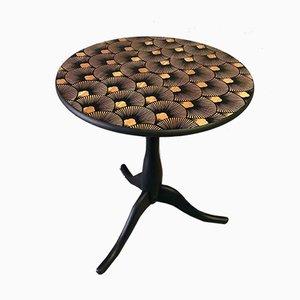 Seigaiha Gueridon Table from Frederia Meubles d'encre