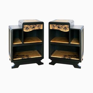 Lys Bedside Tables from Frederia Meubles d'encre, Set of 2