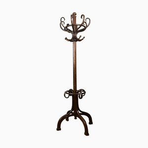 Antique Wooden Hall Coat Stand from Thonet