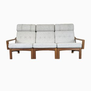 Modern Scandinavian Danish Teak & Fabric Sofa from Glostrup, 1960s