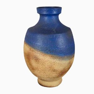 Große Keramikvase von Martha Glatzle für Karlsruher Majolika, 1960er