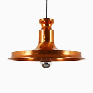 Copper Pendant Lamp, 1960s