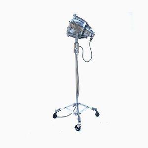 Industrielle Explosionssichere Vintage Aluminium Stehlampe aus Aluminium