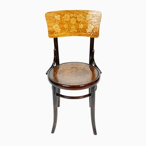 Antique Bentwood Dining Chair from Jacob & Josef Kohn