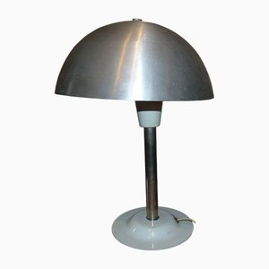 Vintage Industrial Aluminum Table Lamp from Z.S.O. Polam Poznań, 1960s