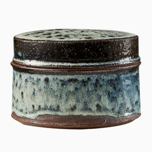 Danish Earthenware Lidded Pot by Hans Vagnsö, 1950s