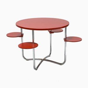 Vintage Bauhaus-Style Desk by Jindřich Halabala for UP Závody