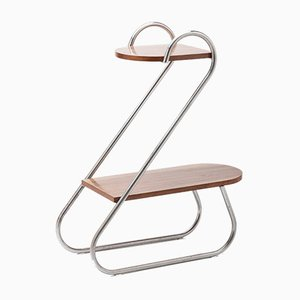 Vintage Bauhaus-Style Flower Stand by A. Beck for Mücke Melder