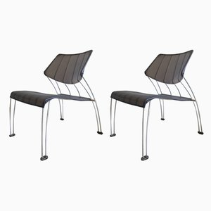 Hasslo Side Chairs by Monika Mulder for Ikea, 1990s, Set of 2
