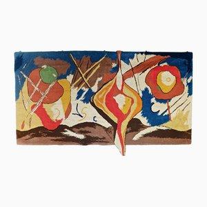 Großer Vintage Wandteppich von Werner Heinrich Nehring, 1991