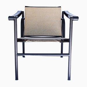 Vintage LC1 Armlehnstuhl von Le Corbusier, Perriand & Jeanneret für Cassina, 1970er