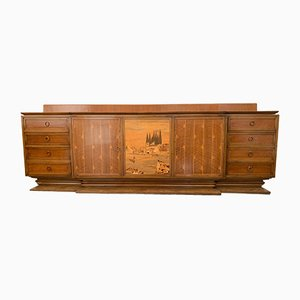 Art Deco Style Sideboard from Giuseppe Anzani, 1940s