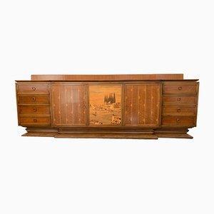 Sideboard im Art Deco Stil von Giuseppe Anzani, 1940er