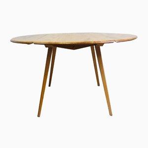 Ovaler Vintage Ulmenholz Esstisch von Lucian Ercolani für Ercol, 1960er