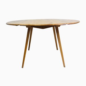 Vintage Elm Oval Dining Table by Lucian Ercolani for Ercol, 1960s