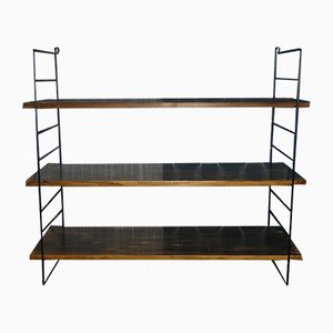 Vintage Wall Shelving Unit