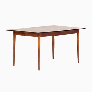 Tavolo da pranzo grande in palissandro, anni '60