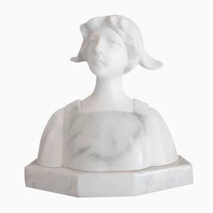 Petit Buste de Femme Antique par Aurilli