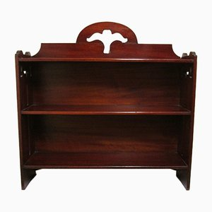 Antique Mahogany Shelf