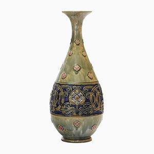 Jugendstil Tear-Drop Vase von Rosina Brown für Royal Doulton