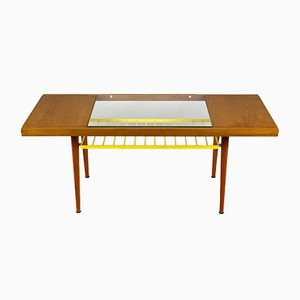 Glass Top Coffee Table from Jitona, 1960s