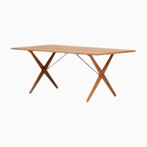 AT-303 Dining Table by Hans J. Wegner for Andreas Tuck, 1960s